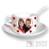 Фотография на кофейной кружке