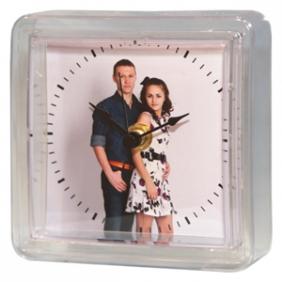 Часы магнитные с фотографией