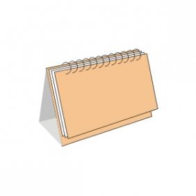 Календарь перекидной настольный 20 х 15 см